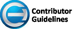 Coruzant logo and contributor guidelines