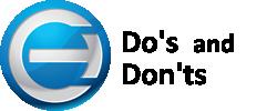 Coruzant logo and Do's & Don'ts for Contributors