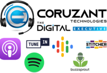 Coruzant Digital Executive Podcast logos