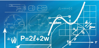 picture of equations, math, geometry, physics