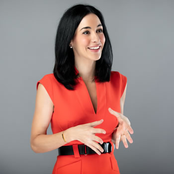 professional shot of CEO Perrine Farque
