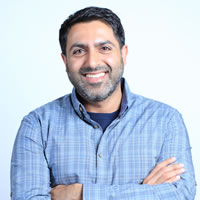 Headshot of CEO Shamir Allibhai