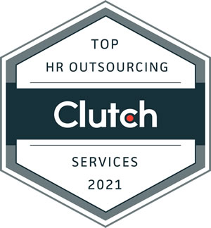 clutch logo top HR outsourcing award techunting