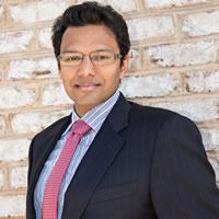 Headshot of Founder Ajay Gupta