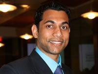 Headshot of Principal Sam Gupta