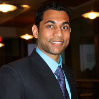 Headshot of Principal Sam Gupta
