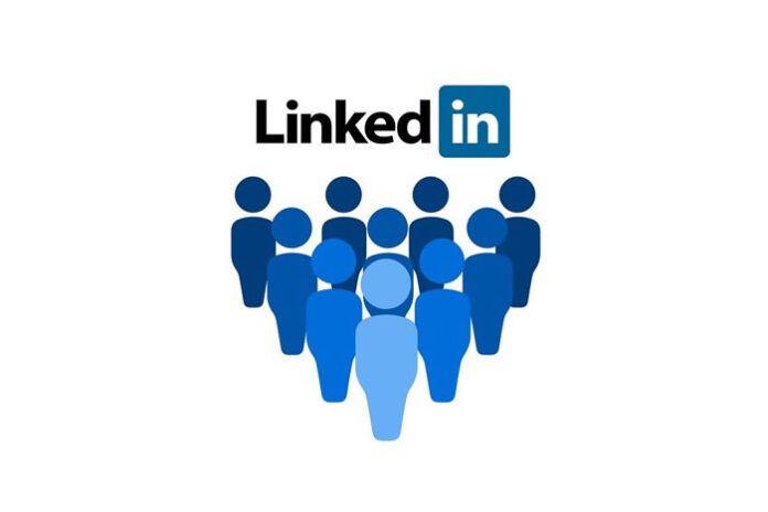 a drawing of LinkedIn people representing the LinkedIn Robot