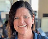 Headshot of Vice President of People Debbie Gunning