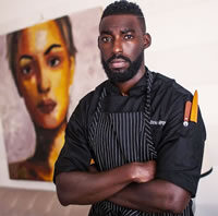 Headshot of Co-Founder and CEO Eric Adjepong