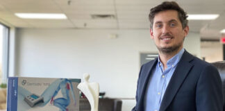 from banking to medical technology with entrepreneur of Dermadry Mathieu