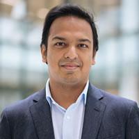 Headshot of Founder and CEO Rahul Powar