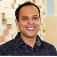 Headshot of R&D Director Shrenik Sadalgi