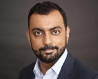 Headshot of Chief Marketing Officer Abhishek Vanamali