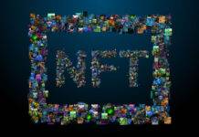 creative nfts or non-fungible tokens represented in digital art and photos